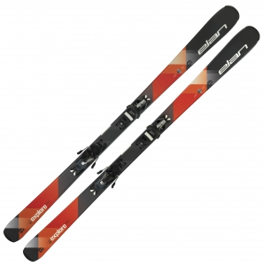Elan Ski EXPLORE 6 ORANGE LS + Bindung EL 9.0 SHIFT