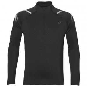 asics Herren Laufshirt - ICON WINTER LS 1/2 ZIP TOP - 2011A044 001