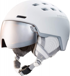 HEAD Damen Skihelm mit Visier RACHEL white - UVP 200,00¤