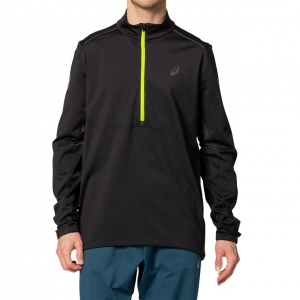 asics Herren - LITE-SHOW WINTER 1/2 ZIP TOP - 2011B060 001
